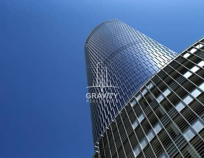 Office for Sale in Al Reem Island, Abu Dhabi - Hot Deal - Spacious shell & core office space I Addax Tower