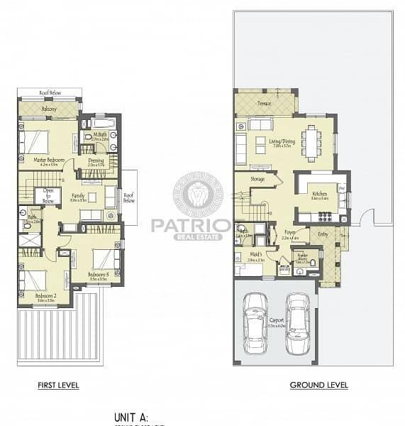 13 combinations luxurious spacious 3 bed villa  - SERENA