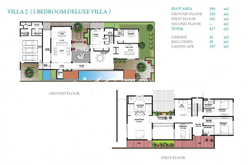 11 Modified 5 BR Deluxe Villa with Own Pool