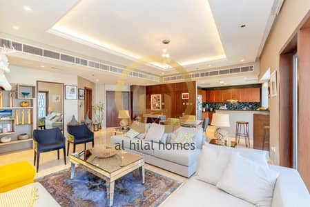 Furnished | 2 BR + Maid | Fully Upgraded | Marina view