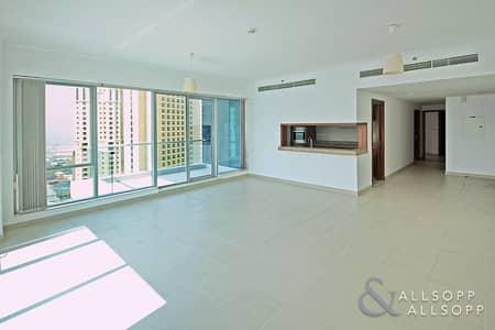 2 Bedroom Apartment for Sale in Dubai Marina, Dubai - Study | Full Marina View | Vacant | 2 Bed