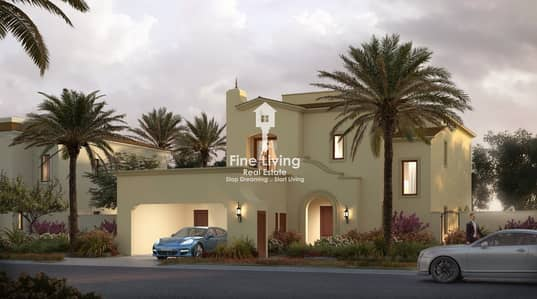 Stand Alone Villa 5 Bedroom + Maid Room With Post handover Payment plan 5 Years