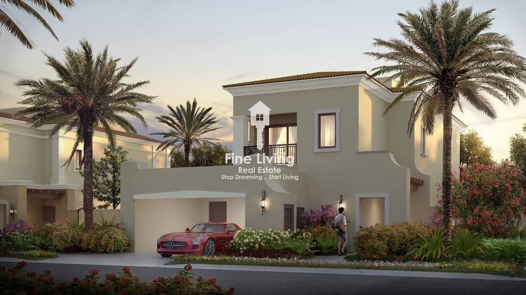 2 Stand Alone Villa 5 Bedroom + Maid Room With Post handover Payment plan 5 Years