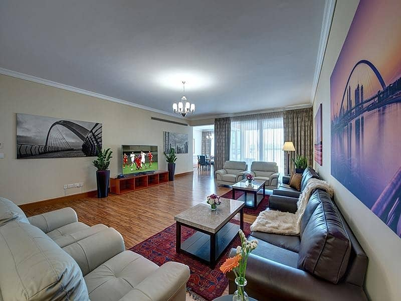 2 J5 Signatured Villas Luxury fully furnished serviced villa Dewa Included