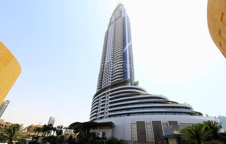 Serviced Studio | Business Bay View | Address Downtown