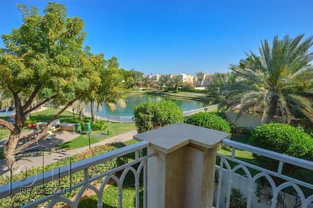 3 Bedroom Villa for Sale in The Springs, Dubai -  Springs 10 with a lake view