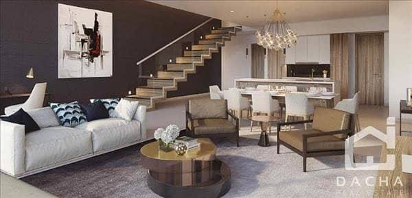 فیلا 4 غرفة نوم للبيع في دبي مارينا، دبي - 5 Year Post Handover Payment
