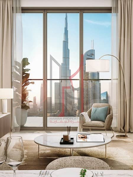 2 Unobstructed views of the Burj Khalifa *