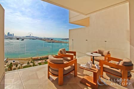 2 Bedroom Flat for Sale in Palm Jumeirah, Dubai - High Floor | Large 2 Bedroom | Sea Views