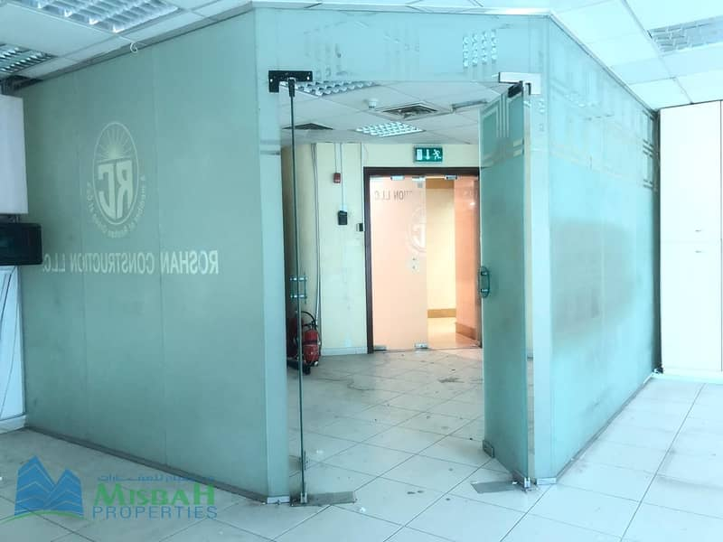 11  6875sq.ft Office at AED60 per Sq.ft near Ansar Gallery