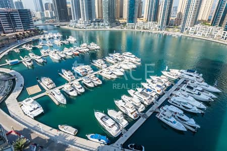 2 Bedroom Apartment for Sale in Dubai Marina, Dubai - Vacant Two Bedroom | Full Marina View