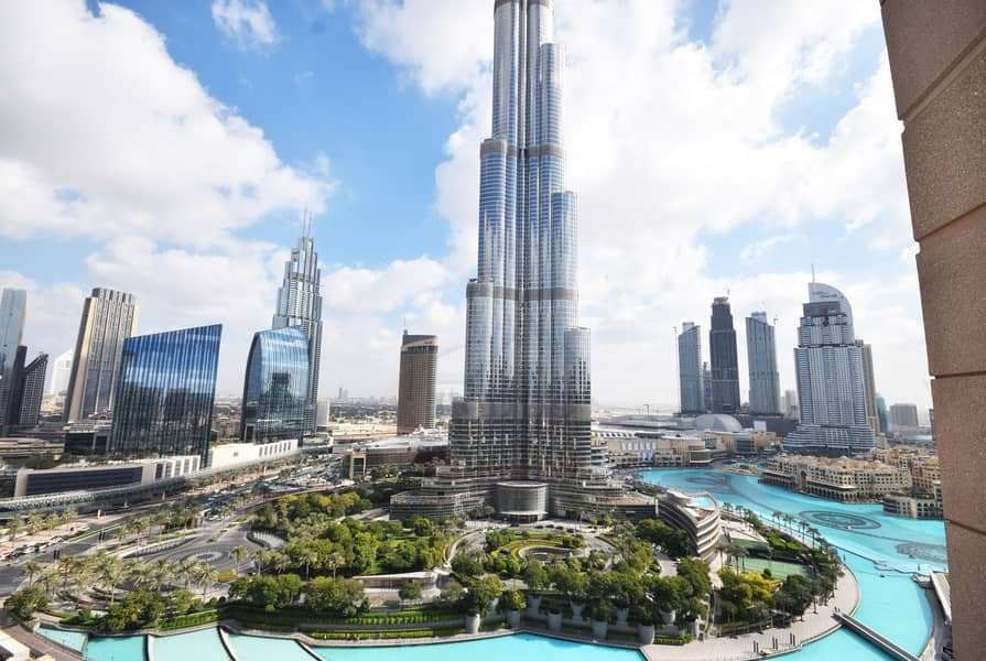 Burj-Fountain Views | Huge 2BR Standpoint
