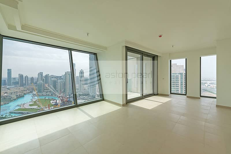 2 BEST fountain View | 3BR + M| BURJ VISTA
