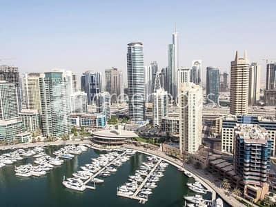 1 Bedroom Apartment for Sale in Dubai Marina, Dubai - Beautiful Full Marina View | Higher Flr. Unit