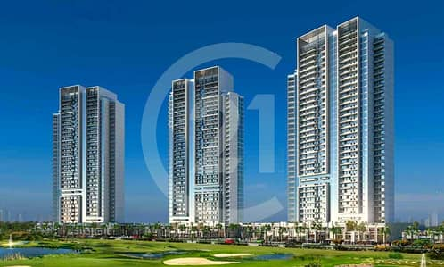 Studio for Sale in DAMAC Hills (Akoya by DAMAC), Dubai - Pay only 14% and move in