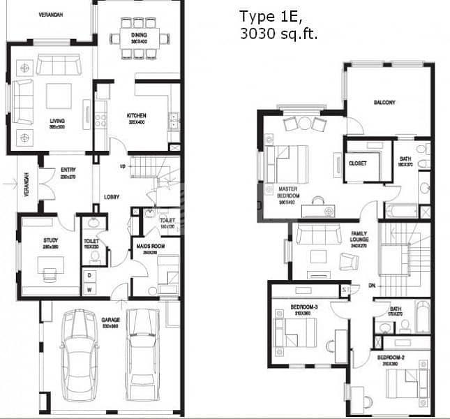 13 Full Lake View| Type 1E | 3BR+Maid+Study