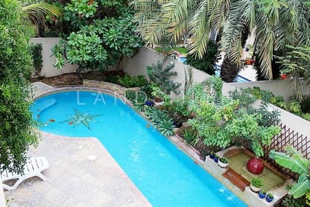 3 Bedroom Villa for Rent in The Meadows, Dubai - Lovely 3 Bedroom Meadows 5 Villa with Private Pool