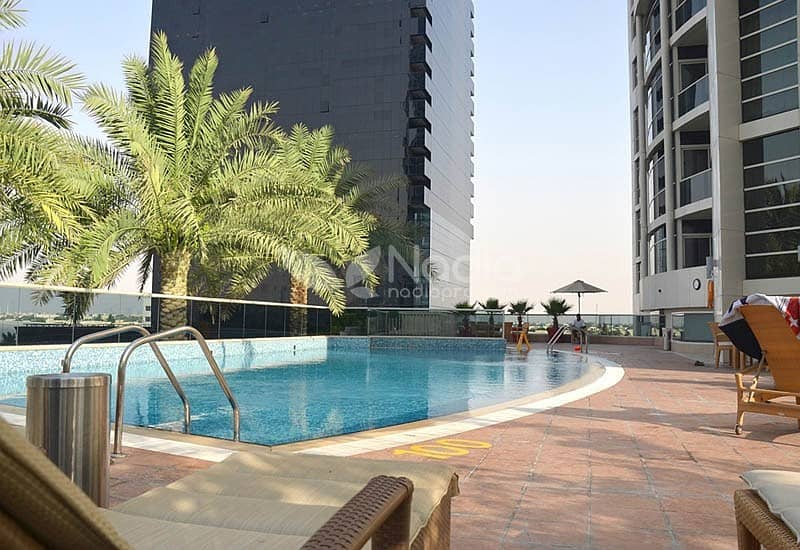 14 1 Bedroom w/ Lake View| Lakeshore Tower | JLT | For Rent