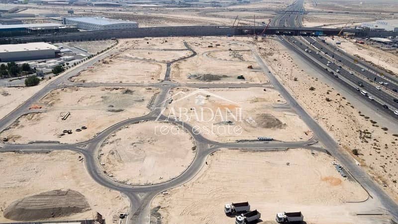 Mixed Use Plot Available In Downtown Jebel Ali At AED 90 Sqft