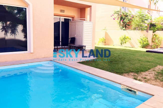 HOT DEAL ! Single Row ! Private Pool and Garden