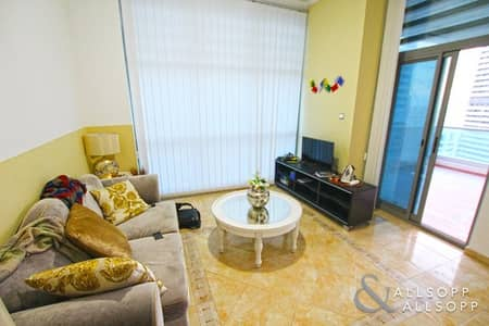 1 Bedroom Apartment for Rent in Dubai Marina, Dubai - Terrace | Furnished | Full Marina Views