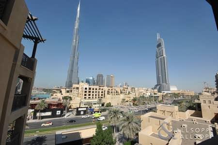 2 Bedroom Apartment for Sale in Old Town, Dubai - Two Beds | Zaafaran 3 | Burj Khalifa View