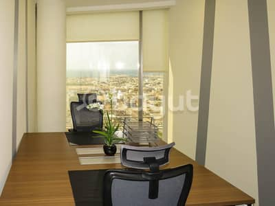Fully Furnished Luxurious Offices with Ejari for rent