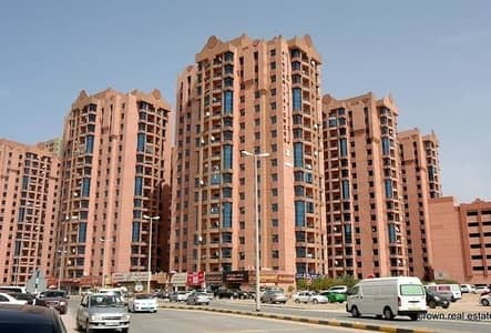 2 Bedroom Apartment for Sale in Al Nuaimiya, Ajman - DISTRESS DEALNUEMIA TOWER:2 BEDROOMS HALL WITH MAID ROOM 1813 sqft