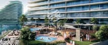 7 1 BR with Partial Canal and Sea View for Investment