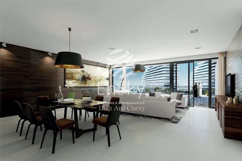 10 1 BR with Partial Canal and Sea View for Investment