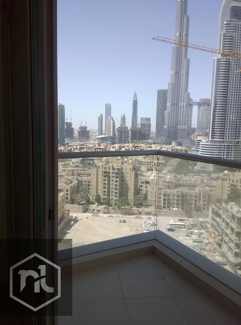 2 Full Burj Khalifa view vacant 2 BR in Burj Views C