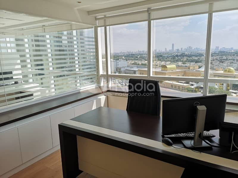 Fully Fitted Office Unit | JBC 2 | Meadows View | JLT