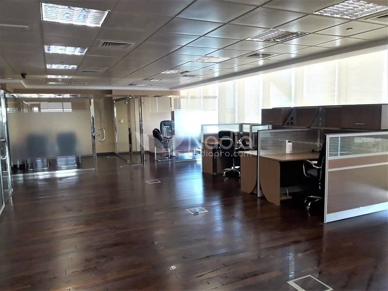Fitted & Furnished Office | With Balcony| Indigo Icon| JLT