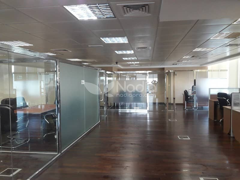 2 Fitted & Furnished Office | With Balcony| Indigo Icon| JLT