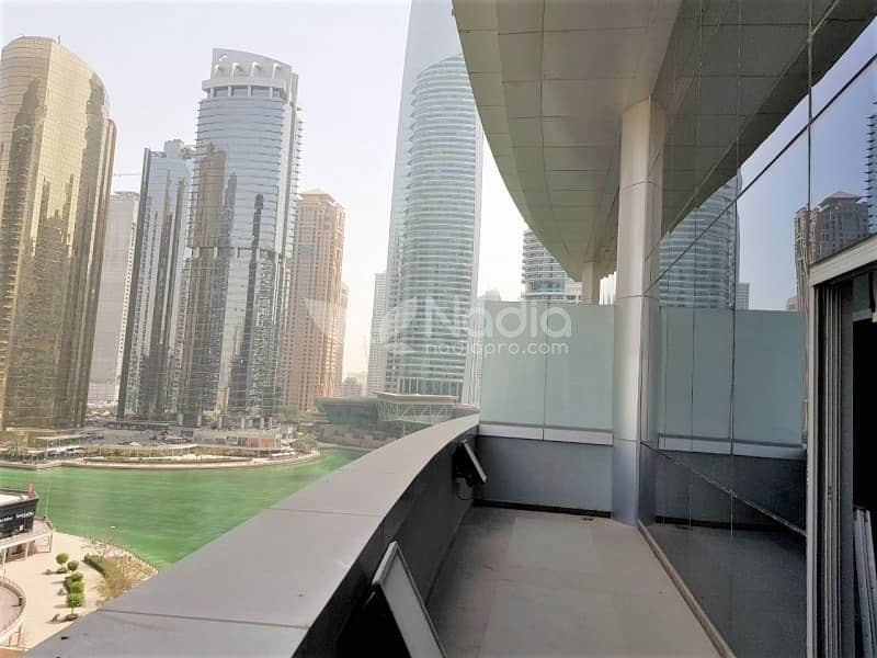 15 Fitted & Furnished Office | With Balcony| Indigo Icon| JLT