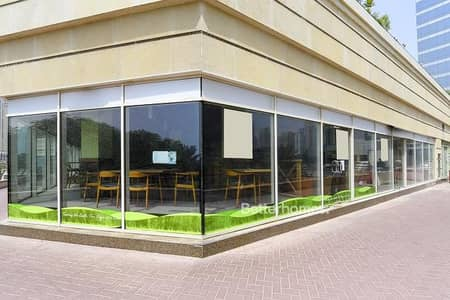 Shop for Sale in Jumeirah Lake Towers (JLT), Dubai - Fitted retail | Ground floor | Park View