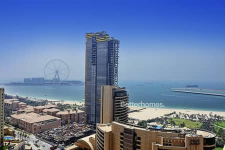 2 Bedroom Flat for Sale in Dubai Marina, Dubai - Full sea view | Vacant | Royal Oceanic