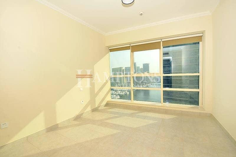 2 Marina View | Vacant 1BR | Mid Floor