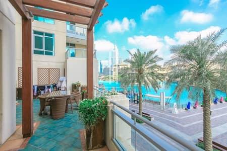 فیلا  للبيع في وسط مدينة دبي، دبي - Fully Upgraded 4BR Villa FUll Burj Views