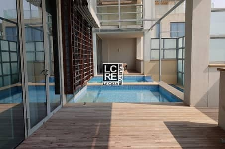 5 Bedroom Townhouse for Rent in Al Raha Beach, Abu Dhabi - Luxury and Elite Furnished Townhouse!!!!