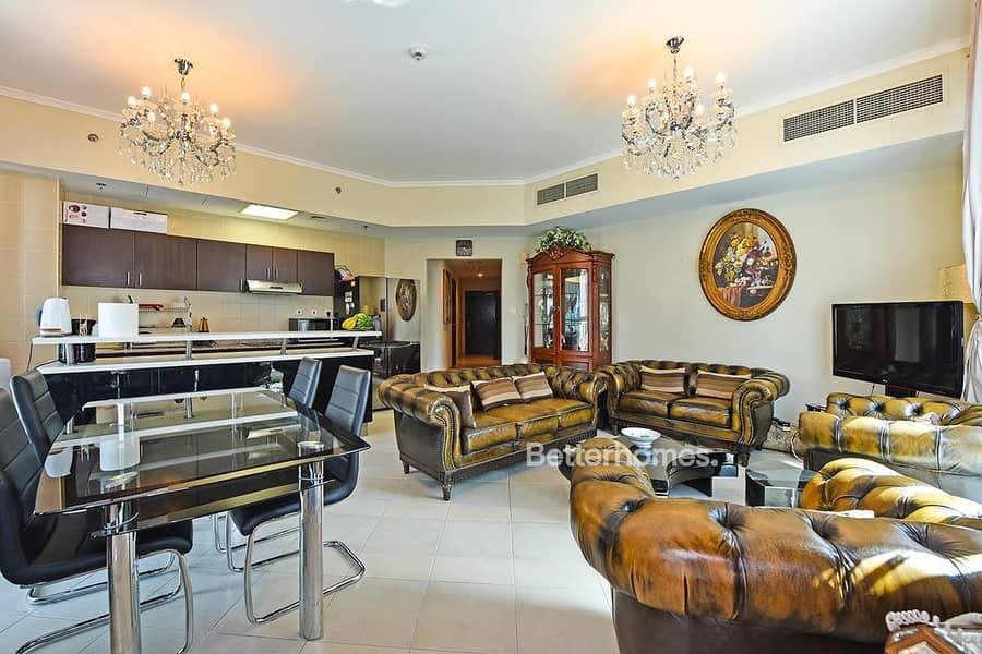 2 Mid Floor I Fully Furnished I Marina View