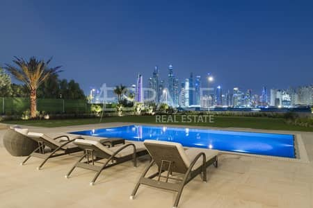 7 Bedroom Villa for Sale in Palm Jumeirah, Dubai - Brand New | Top Quality Big Plot 7 Bed