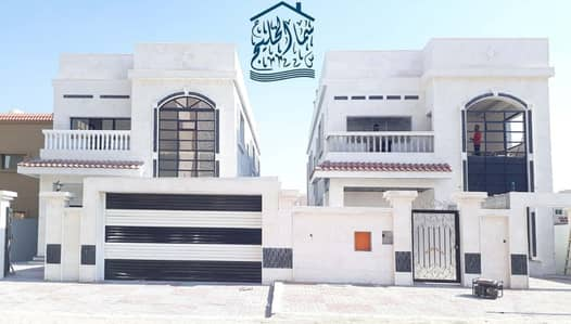 5 Bedroom Villa for Sale in Al Mowaihat, Ajman - For sale villa two floors five bedrooms first resident at a price free ownership all nationalities. .