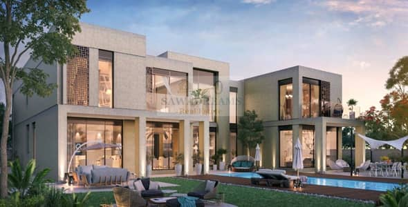 6 Bedroom Villa for Sale in Dubai Hills Estate, Dubai - New Launch Majestic Villas. 50% DLD OFF. 3 y  free service