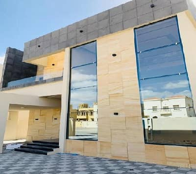 5 Bedroom Villa for Sale in Al Mowaihat, Ajman - New villa finishing very distinctive vip Corner Commercial Street