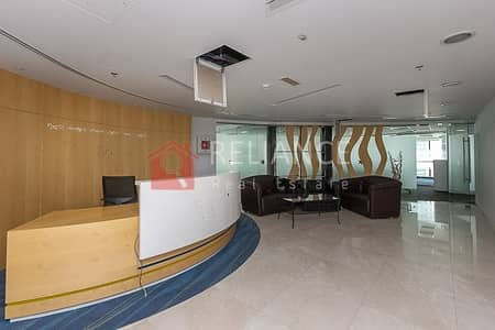 Floor for Rent in Jumeirah Lake Towers (JLT), Dubai - Full Floor | Furnished | Ready To Occupy | Grade A Tower