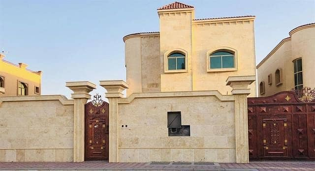 Own your luxurious villa in Ajman - Central Air Conditioning _ Have a free lifetime