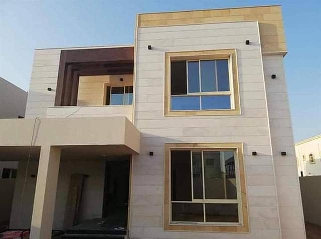 The most luxurious villas in Ajman in the European style - super deluxe finishing - large building s