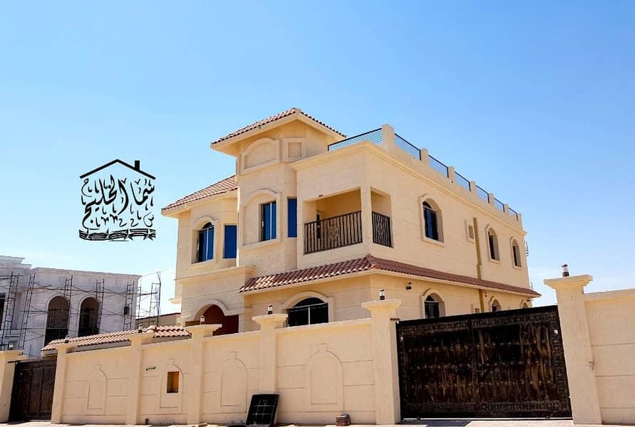Personal Finish Villa with very good design big space in good price Al Yasmeen, Ajman ;