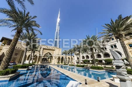 Semi - fitted office space in Downtown Dubai